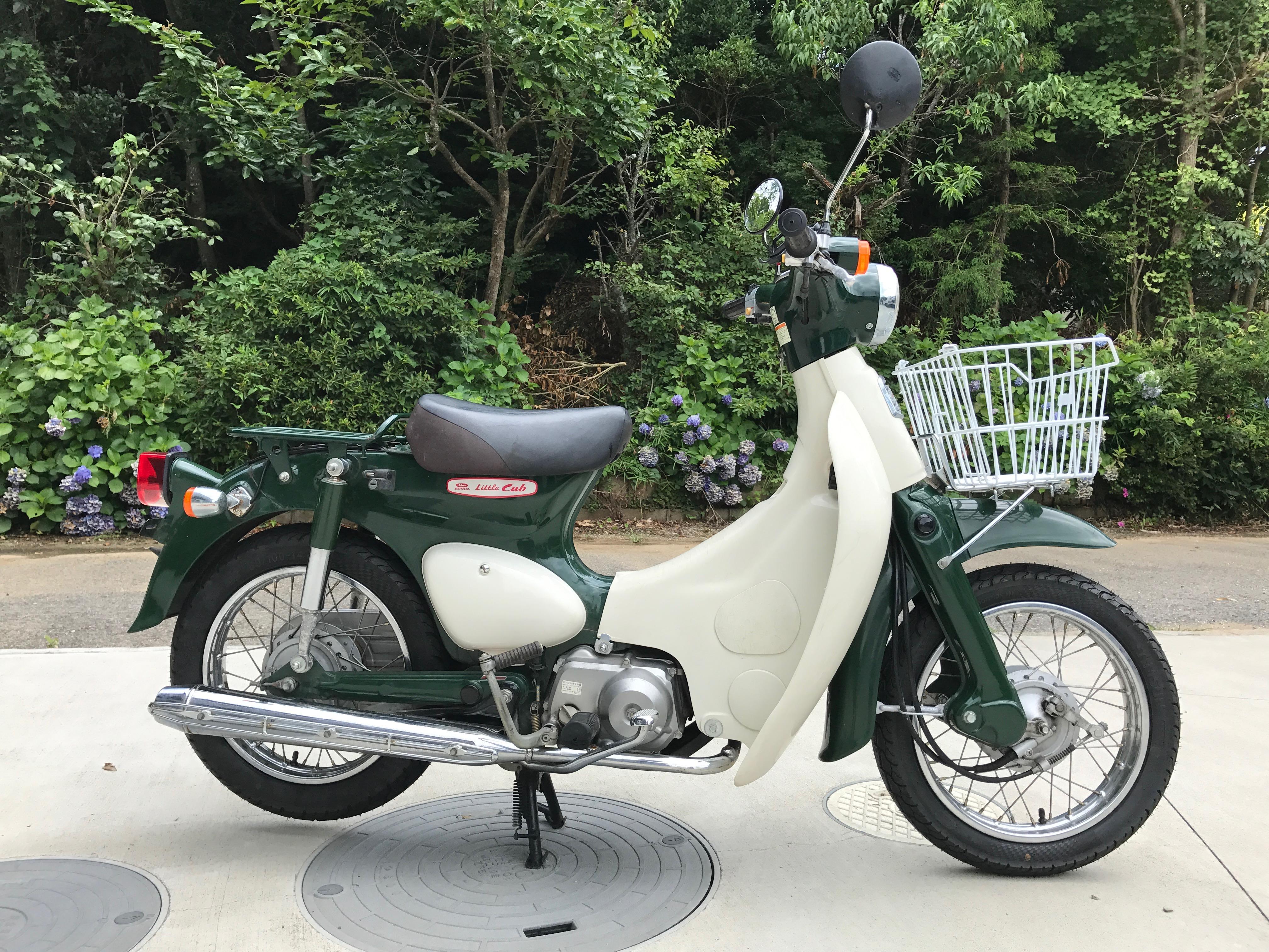 リトルカブ (HN-00) - 【公式】レンタルバイクのベストBike® 仲町台駅前