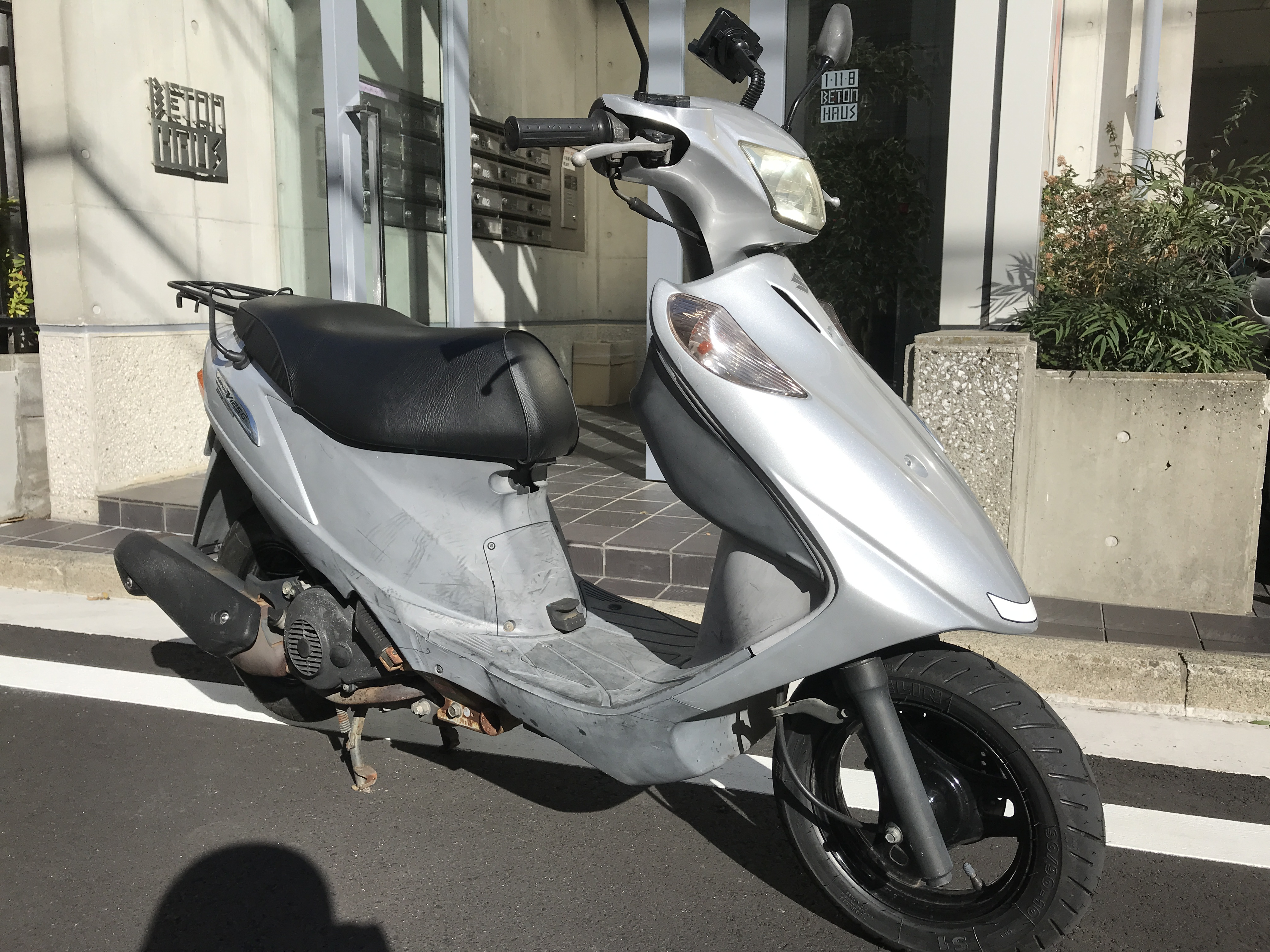 アドレスV125G (HN-00) - 【公式】レンタルバイクのベストBike® 八王子駅前