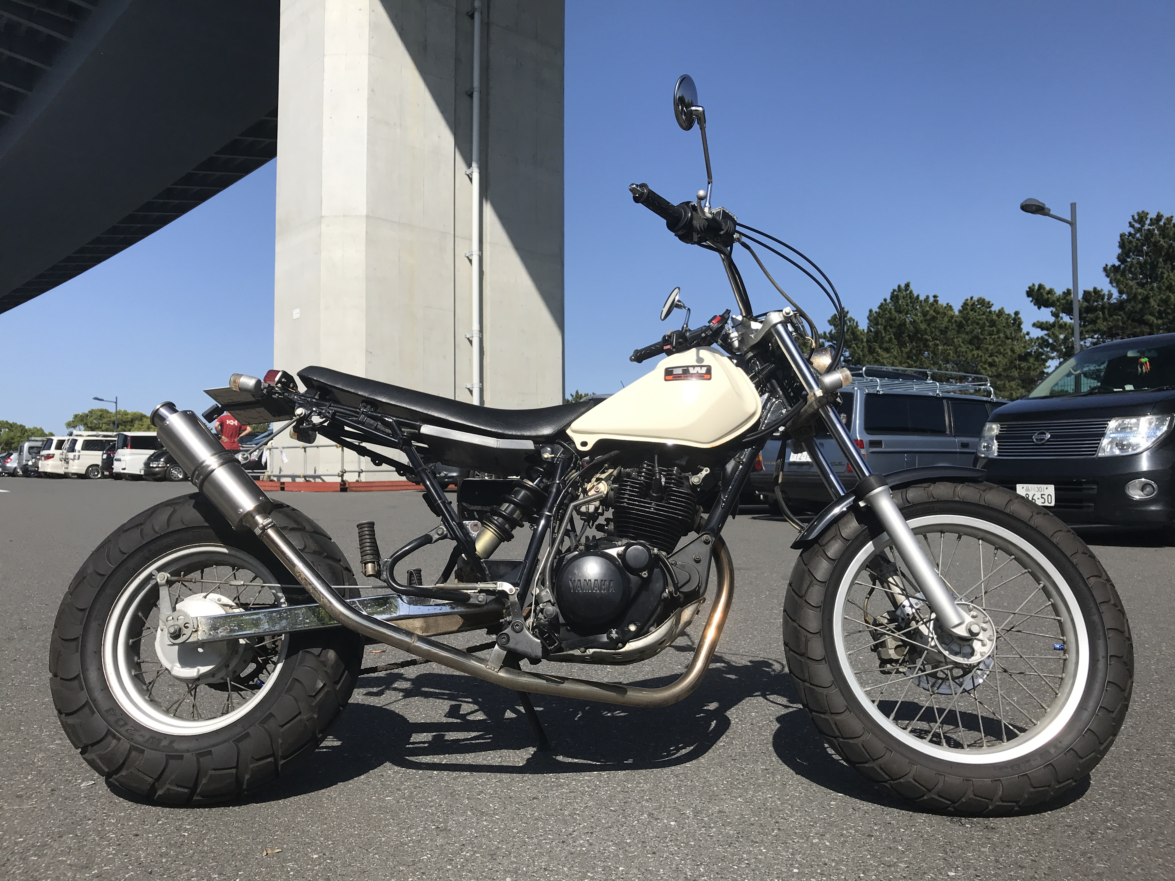 TW225カスタム (HN-00) - 【公式】レンタルバイクのベストBike® 新横浜駅前