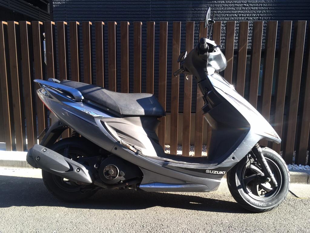GSR125(SH-003) - 【公式】レンタルバイクのベストBike® 五反田駅前