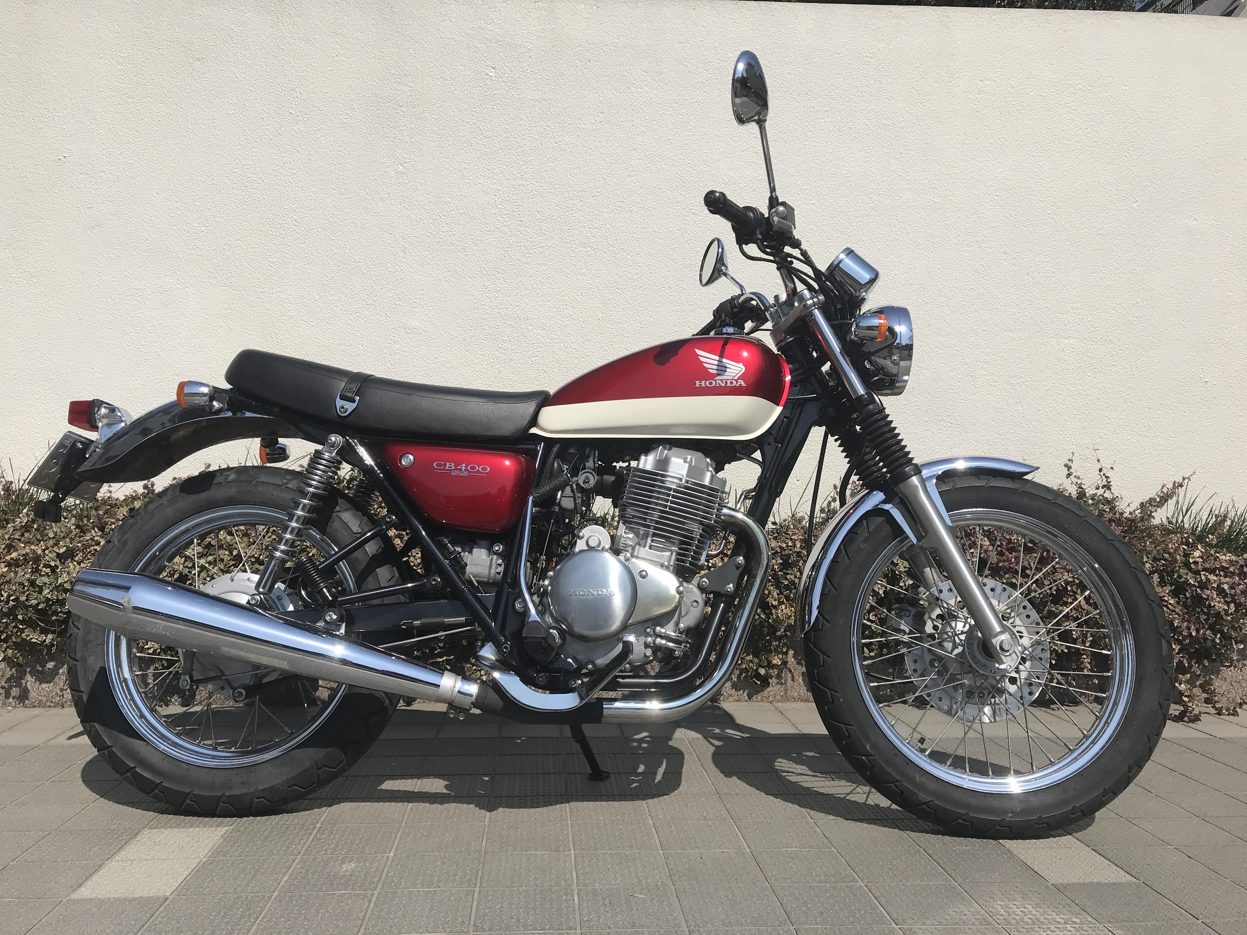 CB400SS(SH-004) - 【公式】レンタルバイクのベストBike® 歌舞伎町