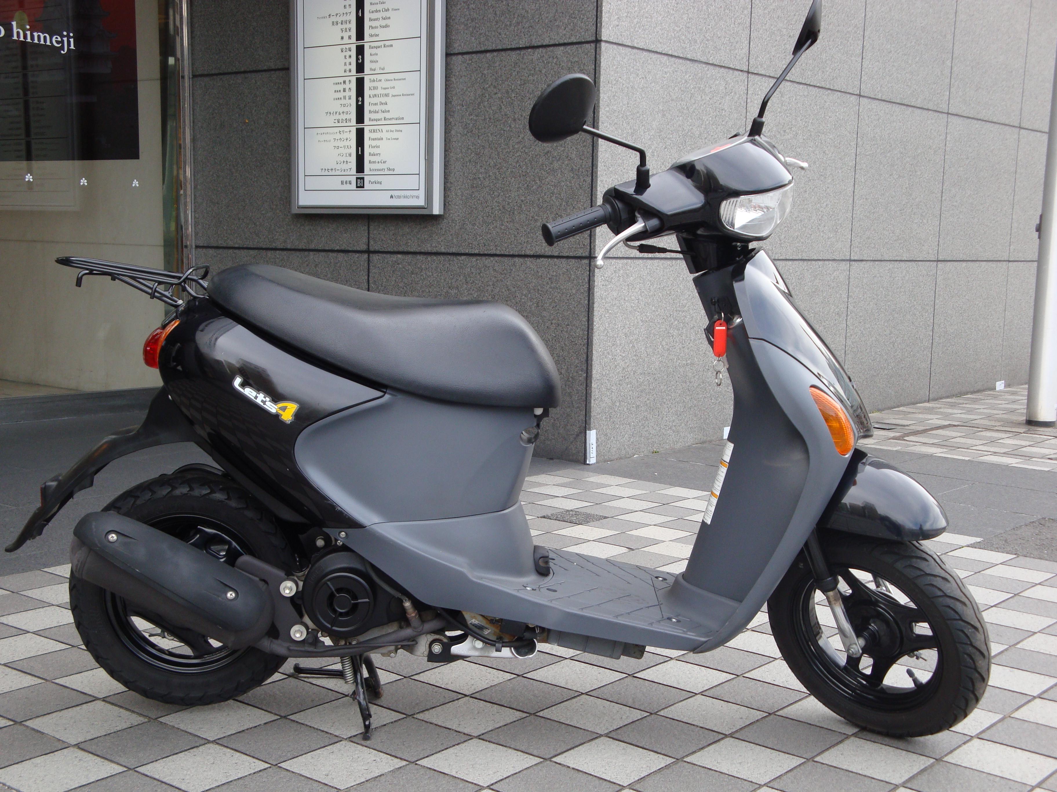 レッツ4(FC-000)徳島空港 - 【公式】レンタルバイクのベストBike® 東京墨田店