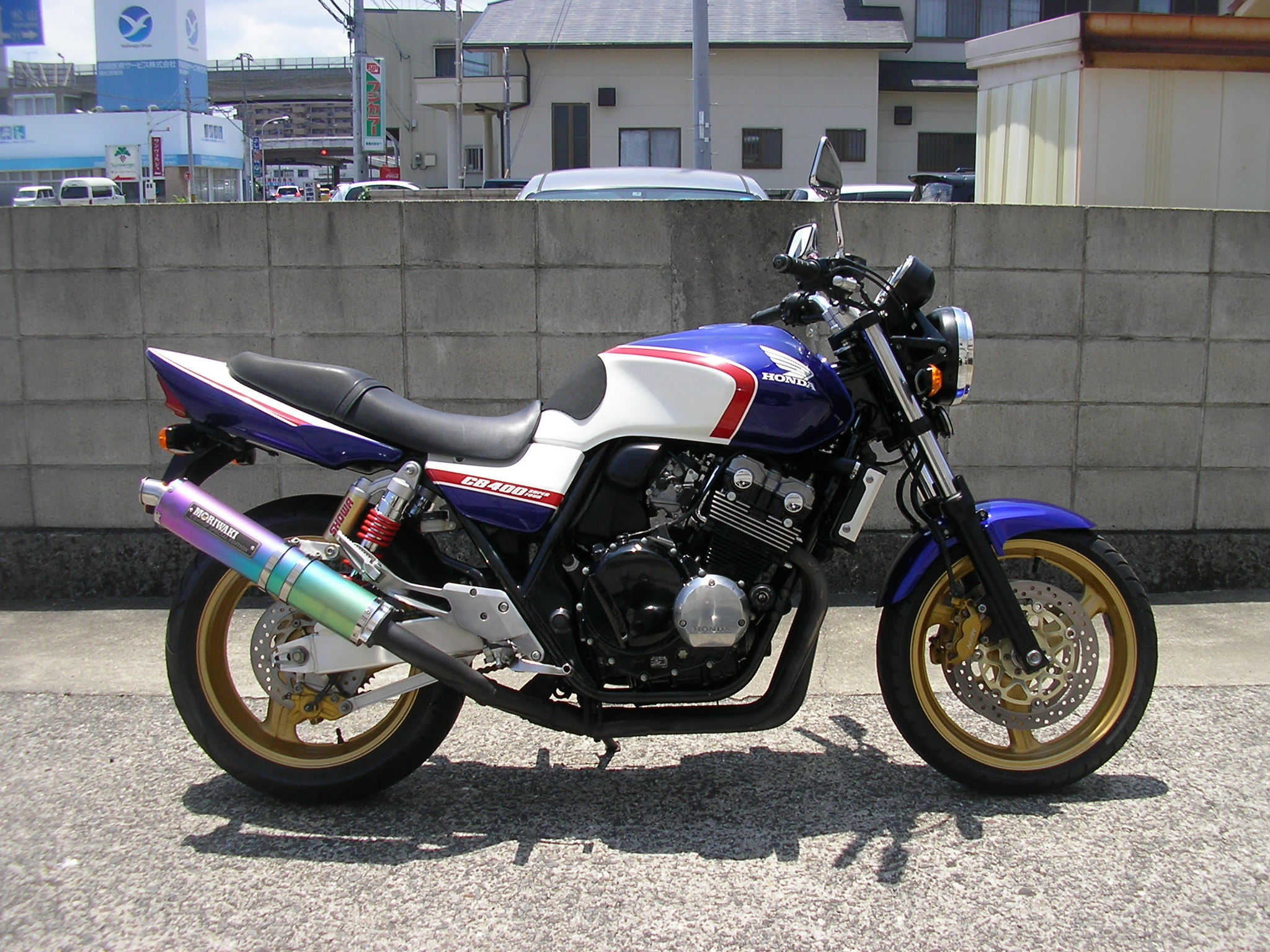 CB400SF VTEC2 (FC-000) - 【公式】レンタルバイクのベストBike® 蒜山高原