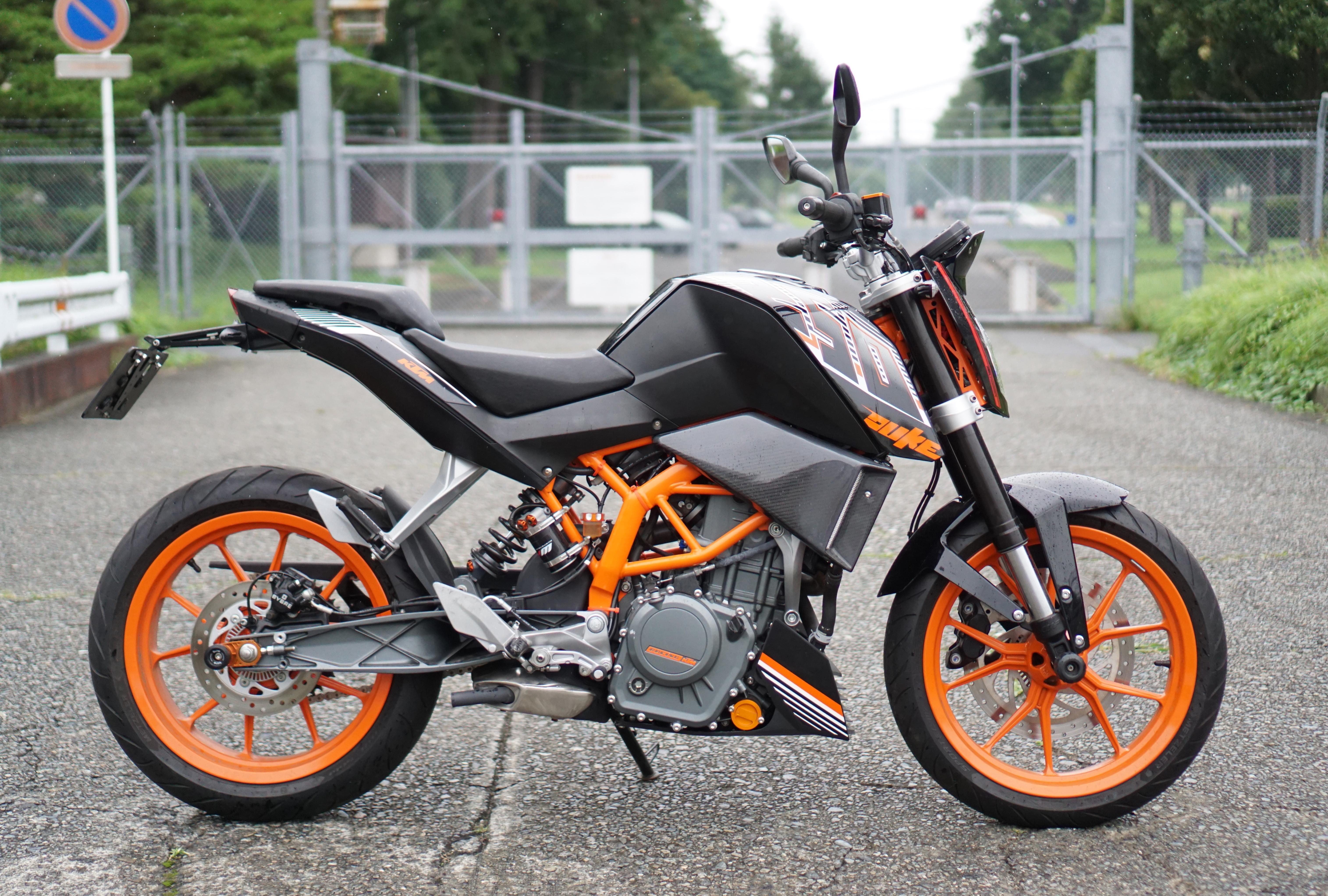 250DUKE(SH-105)チ-2号 - 【公式】レンタルバイクのベストBike® 町田駅前