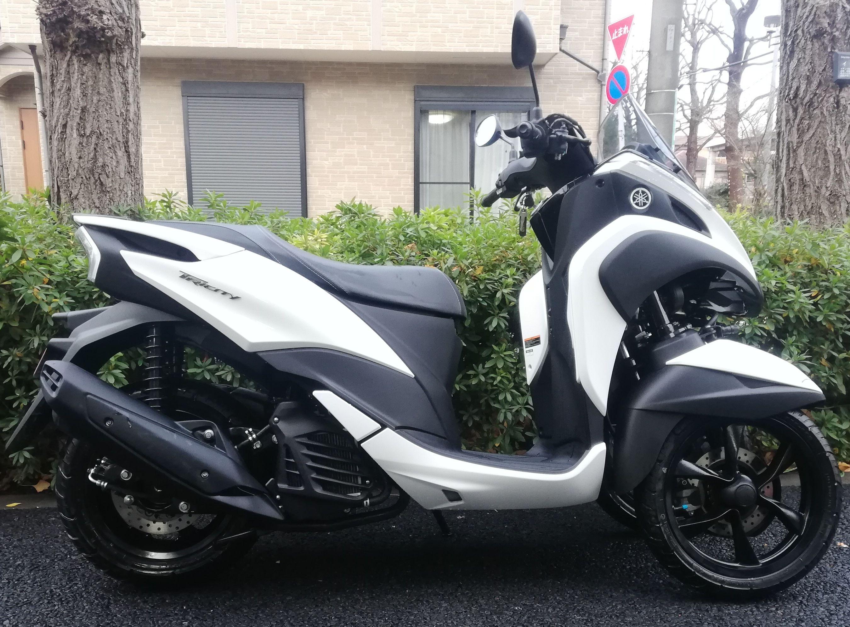 トリシティ125(SH204) - 【公式】レンタルバイクのベストBike® スカイツリー駅前