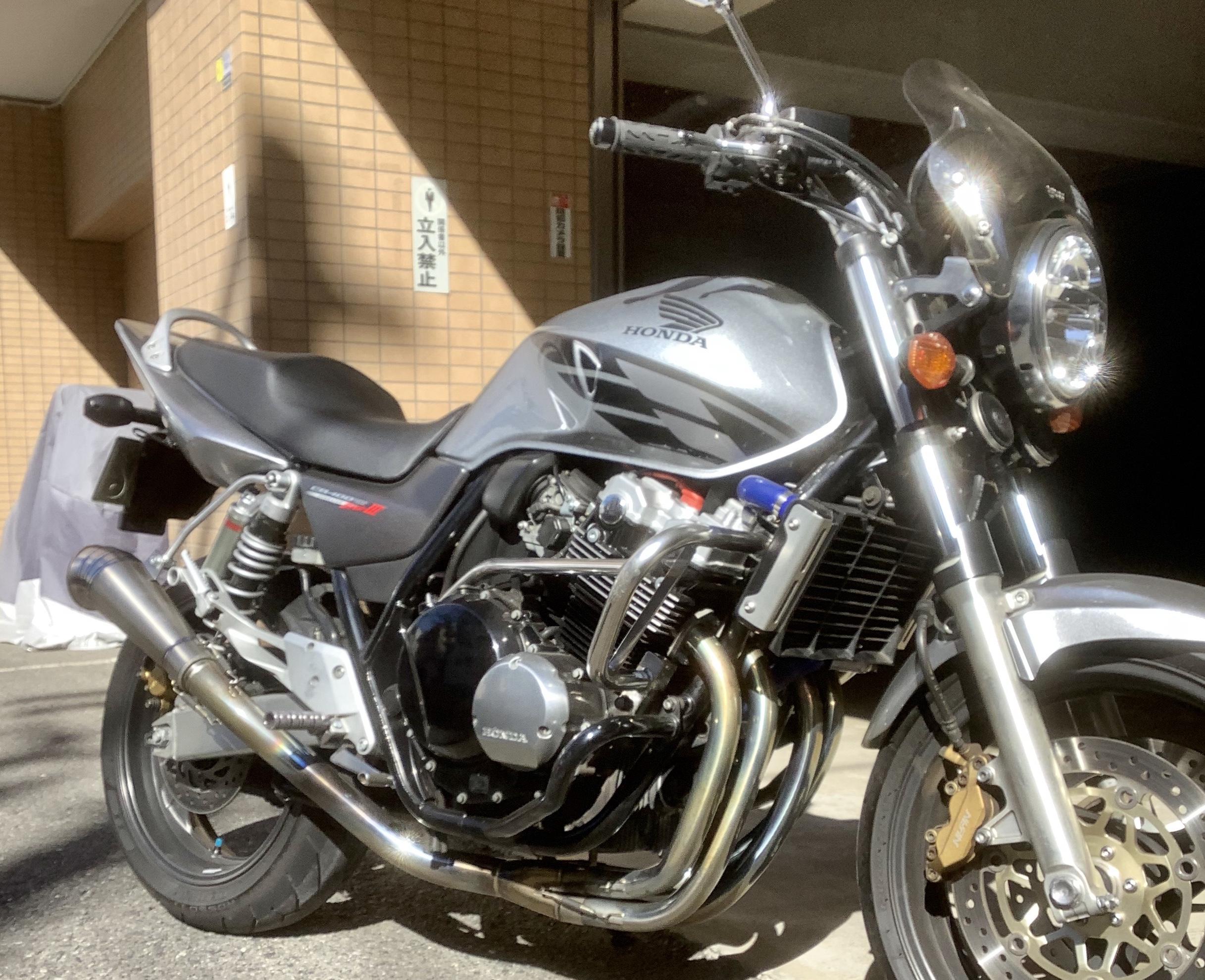 CB400V-tec3カスタム(HN-00) - 【公式】レンタルバイクのベストBike® 六本木駅前