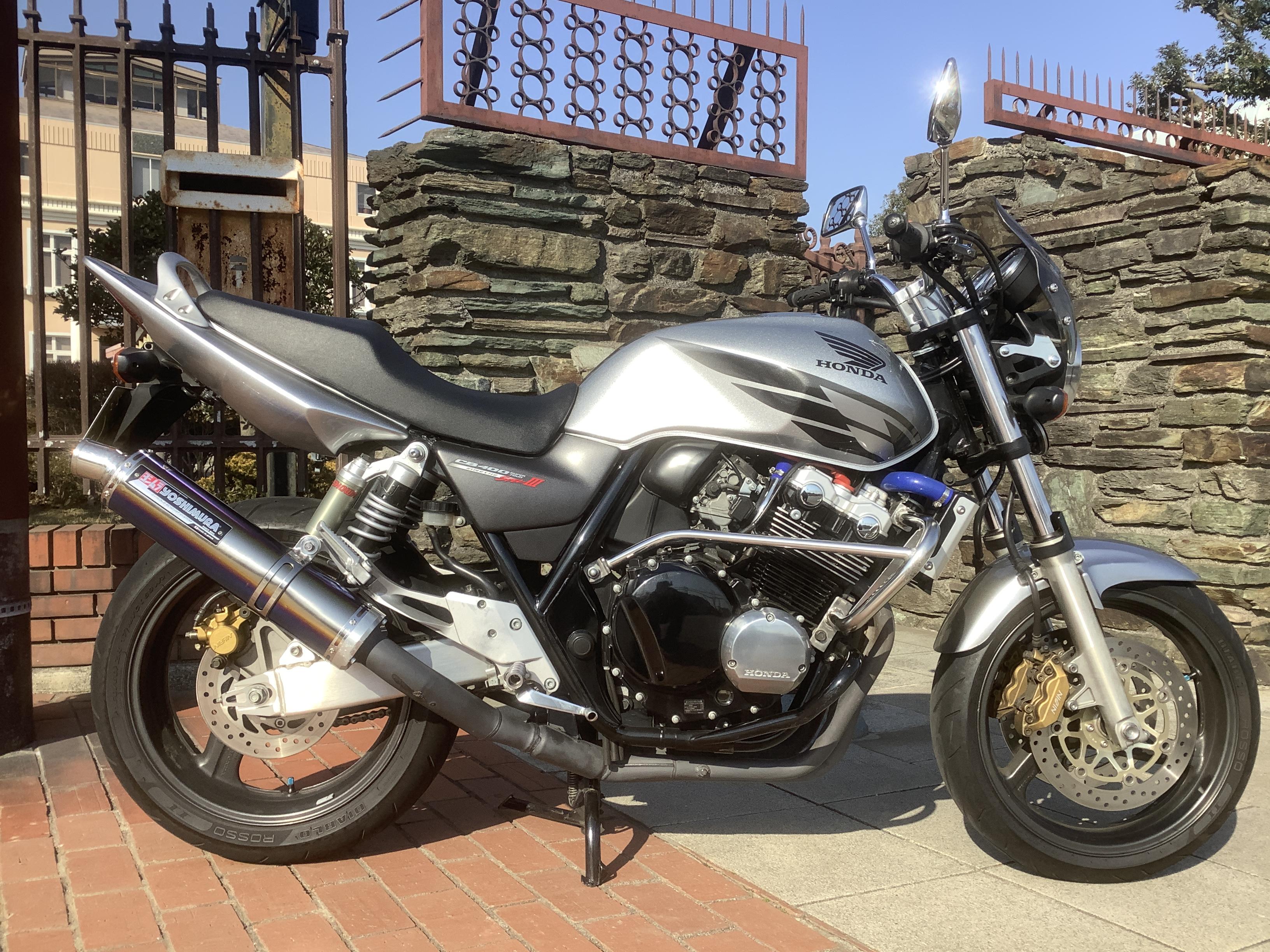 CB400Vtec-3(HN-00)銀 - 【公式】レンタルバイクのベストBike® 経堂駅前