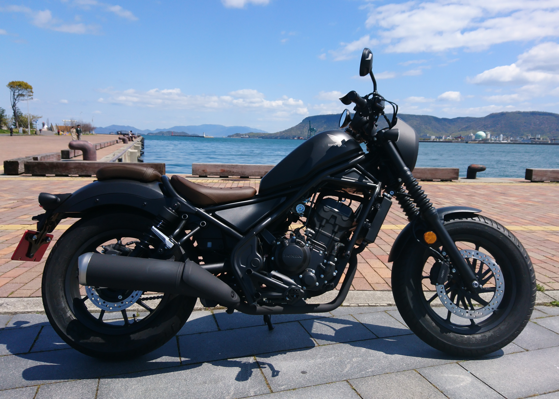 レブル250(SH-201) - 【公式】レンタルバイクのベストBike® JR高松駅前