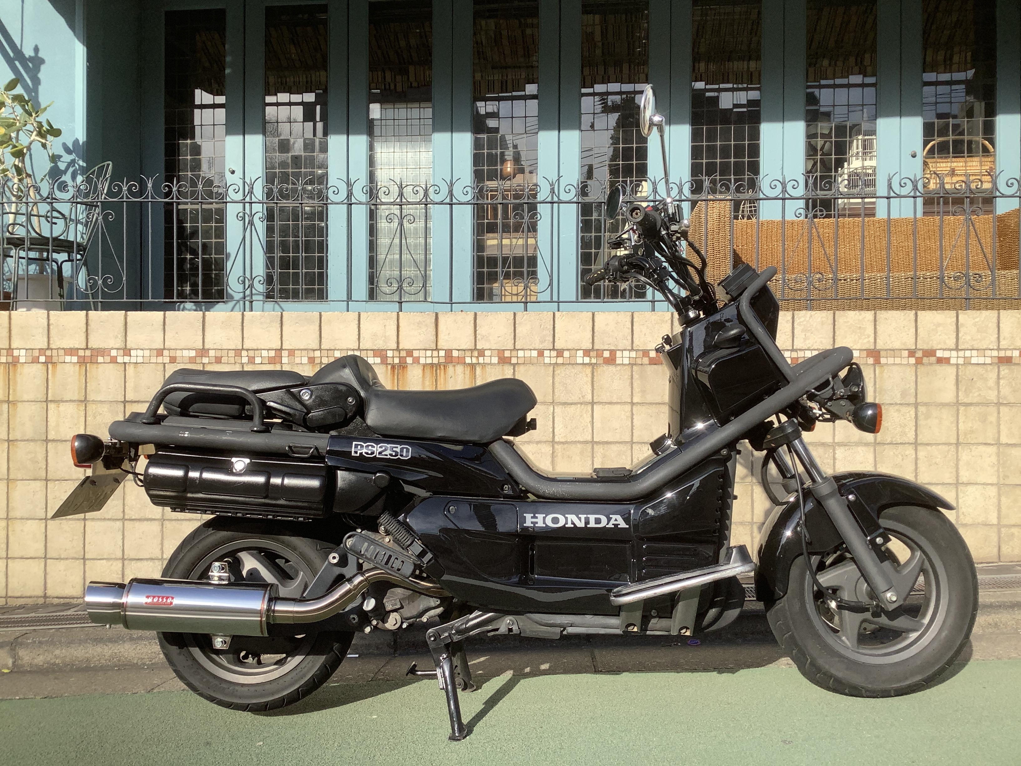 PS250 (HN-00) - 【公式】レンタルバイクのベストBike® 上野駅前