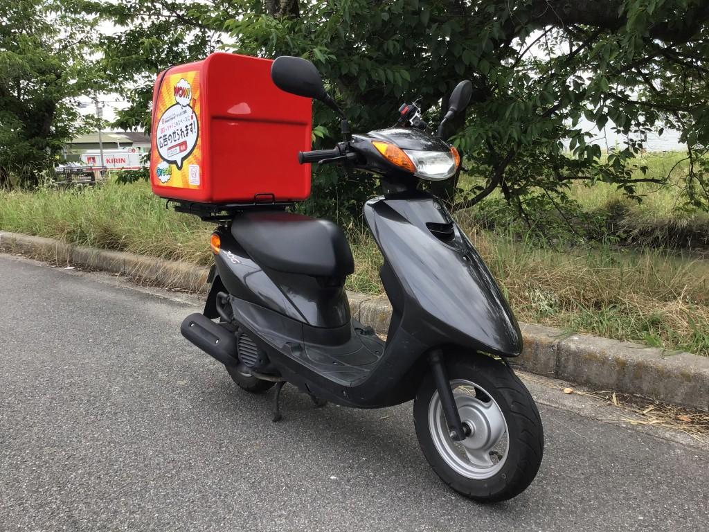 JOG (FC-000)ハコハコ black - 【公式】レンタルバイクのベストBike® JR鳴門駅前 原付専門