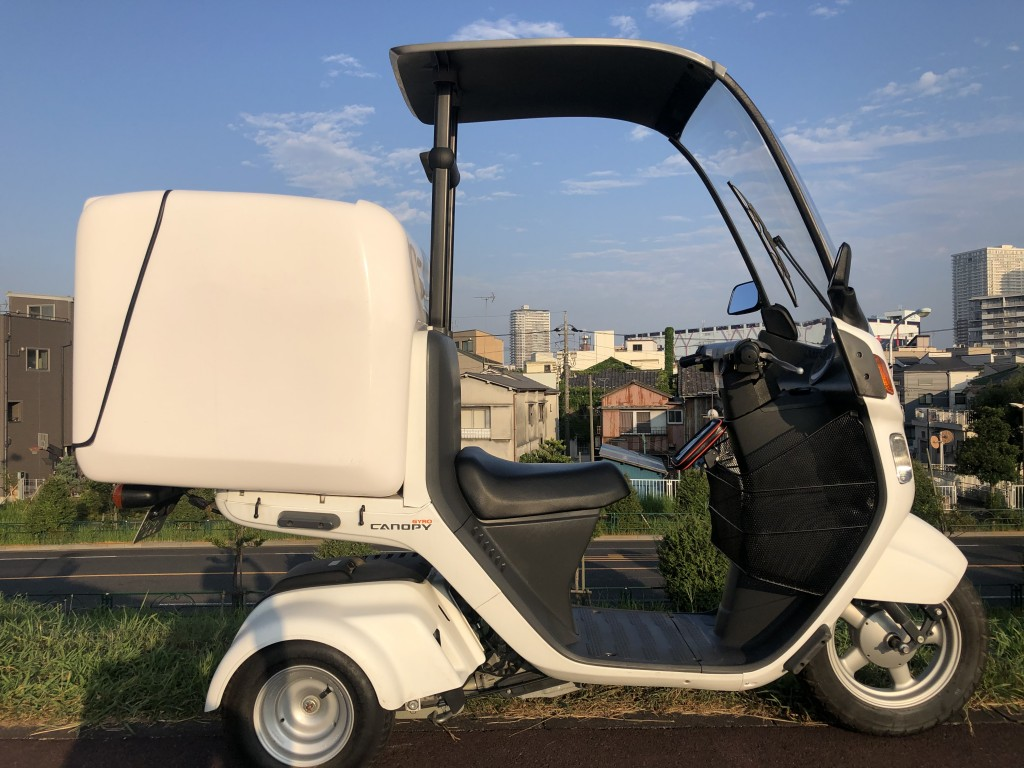 ジャイロキャノピー(SH-225) - 【公式】レンタルバイクのベストBike® 新宿駅東南口