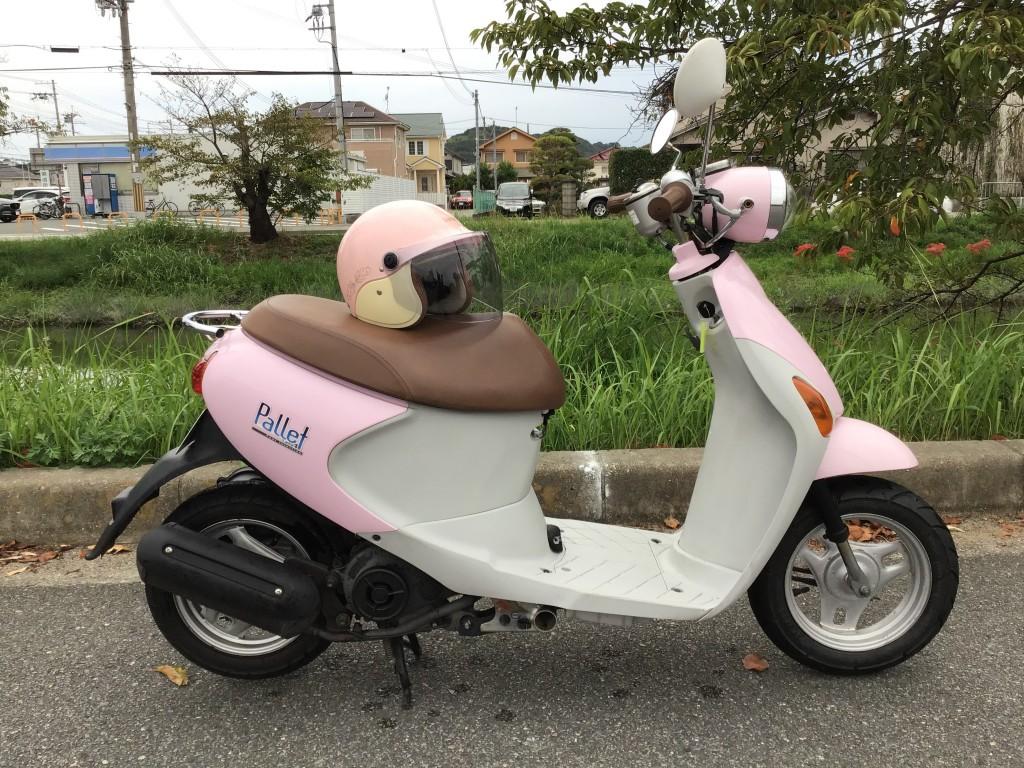 レッツ4パレットピンク(F-000) - 【公式】レンタルバイクのベストBike® JR米子駅前