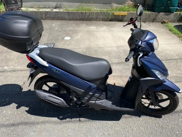 アドレス110(SH-221) - 【公式】レンタルバイクのベストBike® 阿蘇くまもと空港