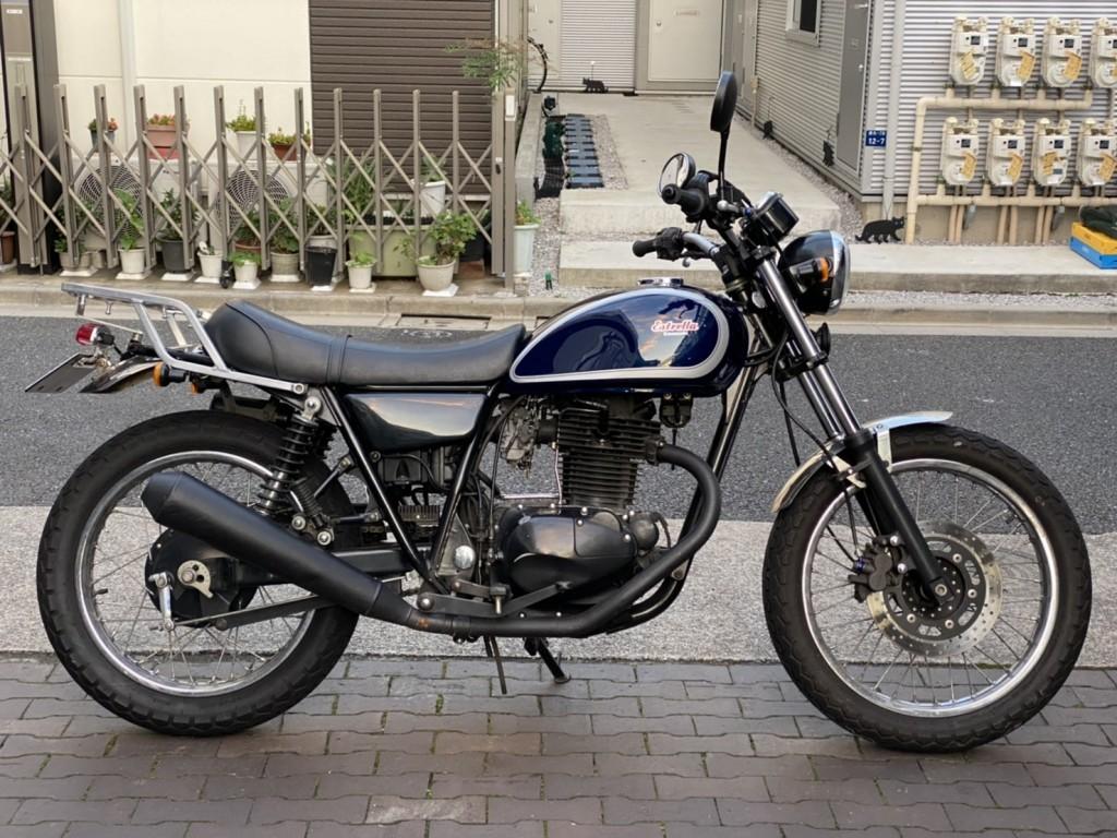 250TR改(SH-213) - 【公式】レンタルバイクのベストBike® 池袋駅前