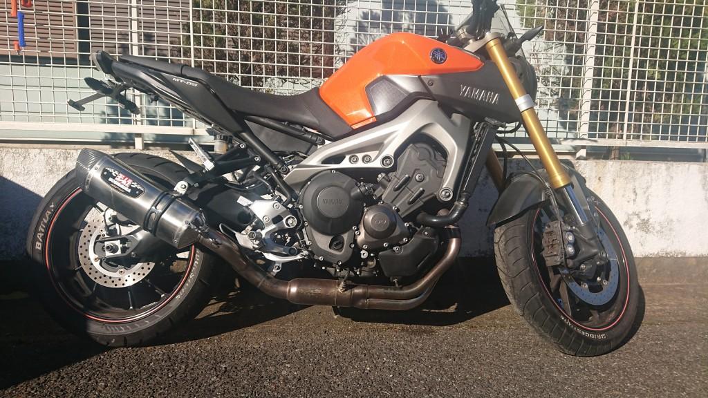 MT-09(SH-237) - 【公式】レンタルバイクのベストBike® 我孫子駅前