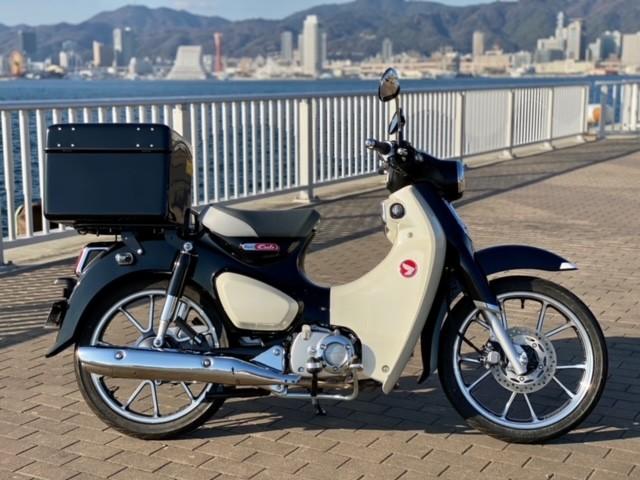 スーパーカブC125(SH-246) - 【公式】レンタルバイクのベストBike® JR神戸駅前