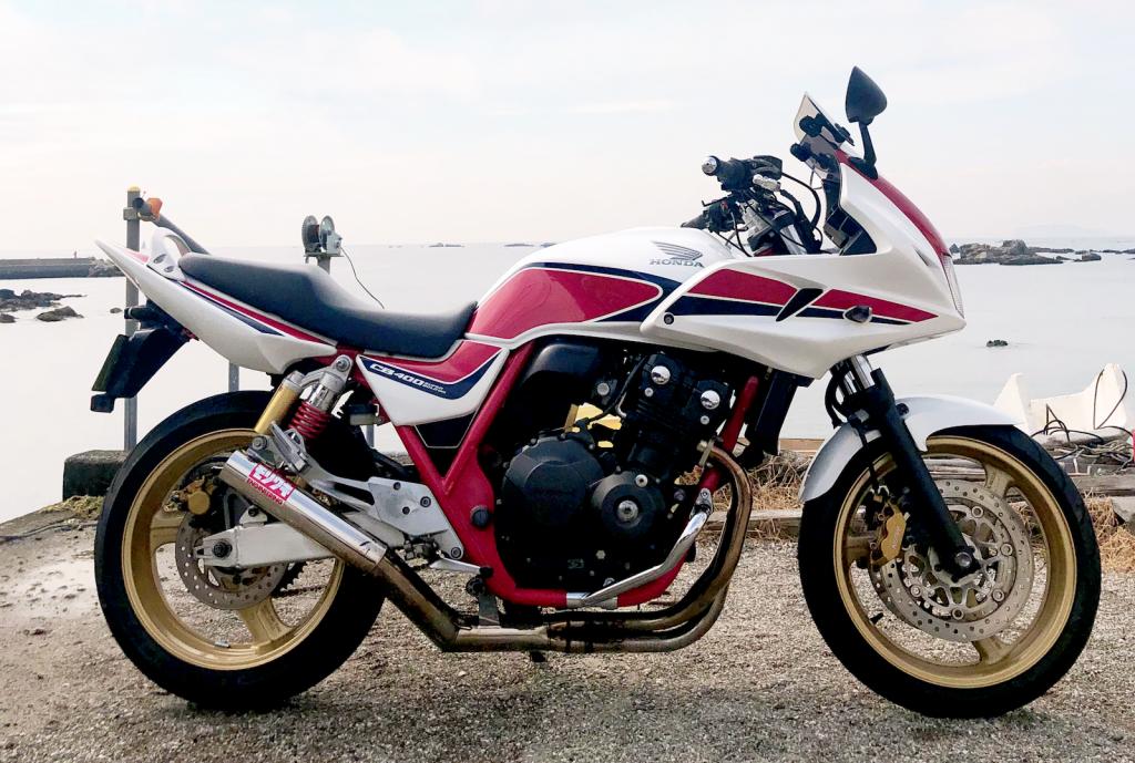 CB400Revoボルドール(SH-224) - 【公式】レンタルバイクのベストBike® 二俣川駅前