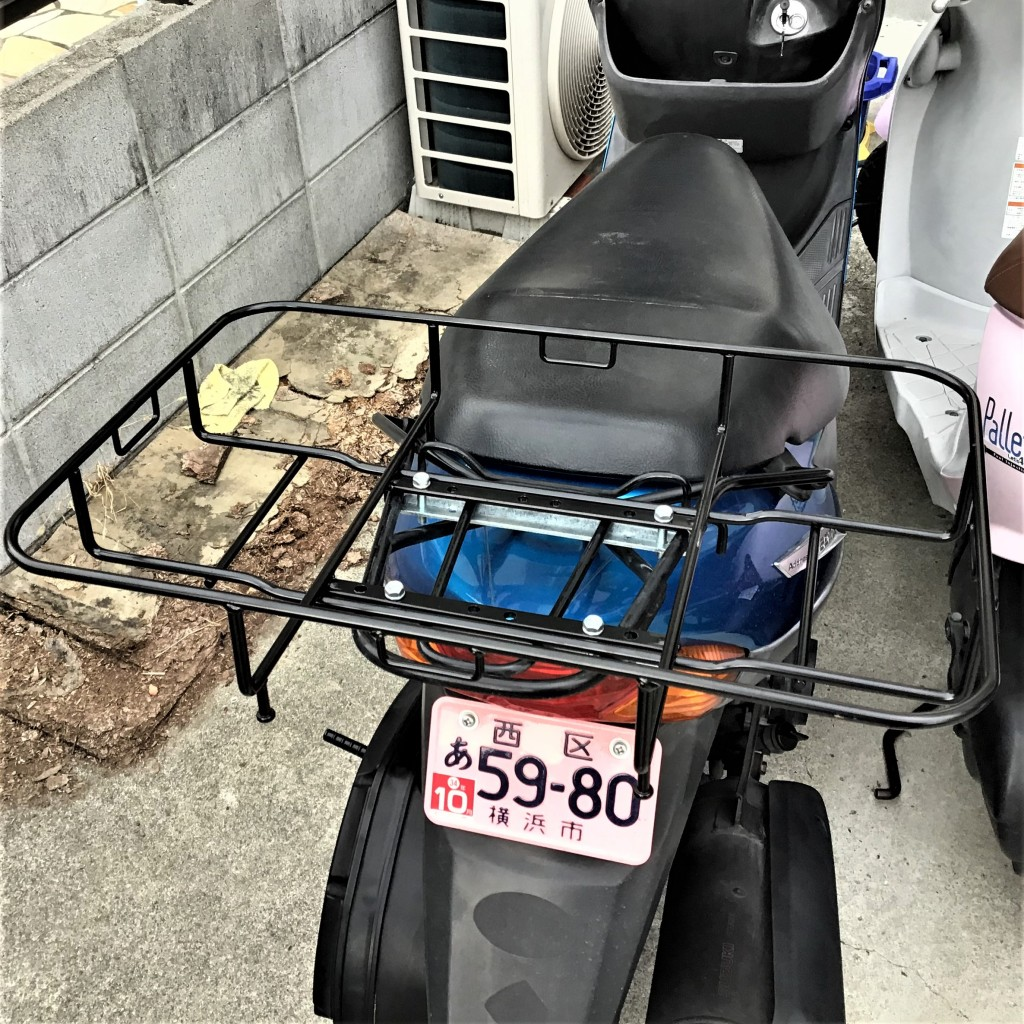 V125G ウーバーキャリヤ付き(FC-000) - 【公式】レンタルバイクのベストBike® 南海金剛駅前