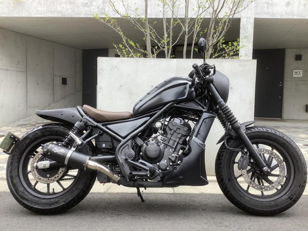 レブル250カスタム(SH-250) - 【公式】レンタルバイクのベストBike® 渋谷駅前