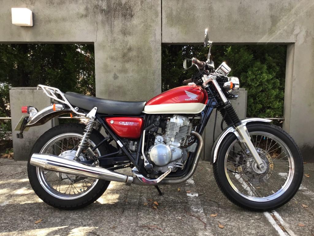 CB400SS セル付き(FC-000) - 【公式】レンタルバイクのベストBike® 醍醐駅前(地下鉄東西線)