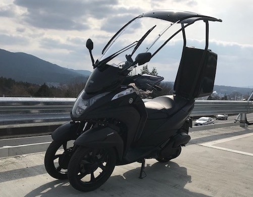 トリシティ155ルーフ付(SH-247) - 【公式】レンタルバイクのベストBike® 下高井戸駅前