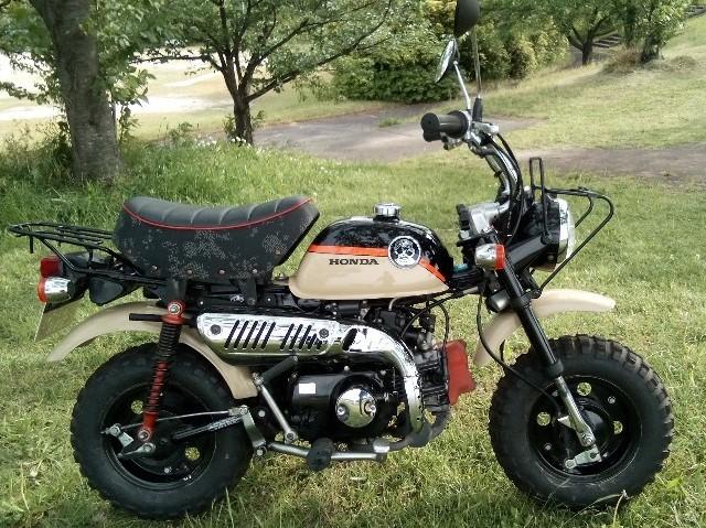 モンキー(SH-256) - 【公式】レンタルバイクのベストBike® JR 名鉄 金山駅前