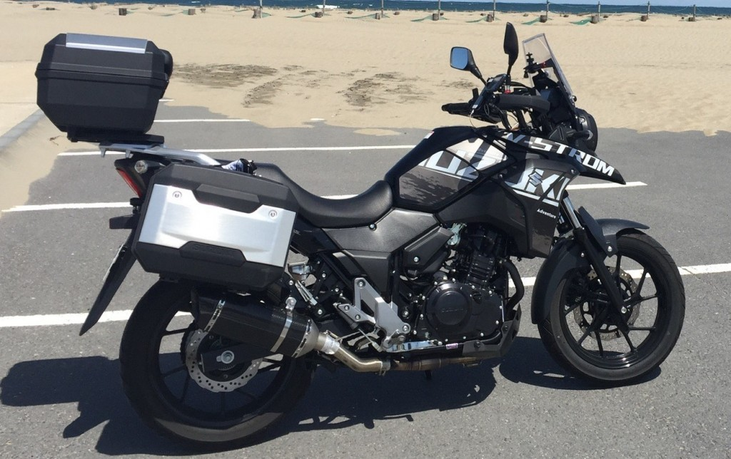 Vストローム250(SH-258) - 【公式】レンタルバイクのベストBike® 我孫子駅前