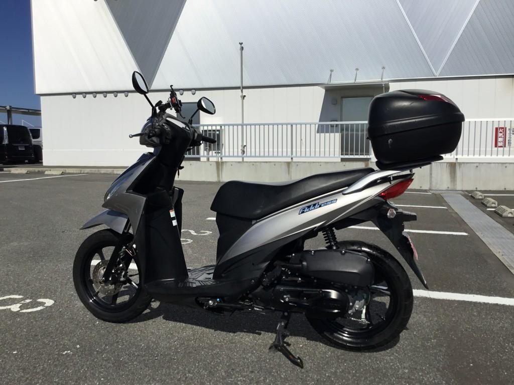 アドレス110(FC-000) - 【公式】レンタルバイクのベストBike® 醍醐駅前(地下鉄東西線)