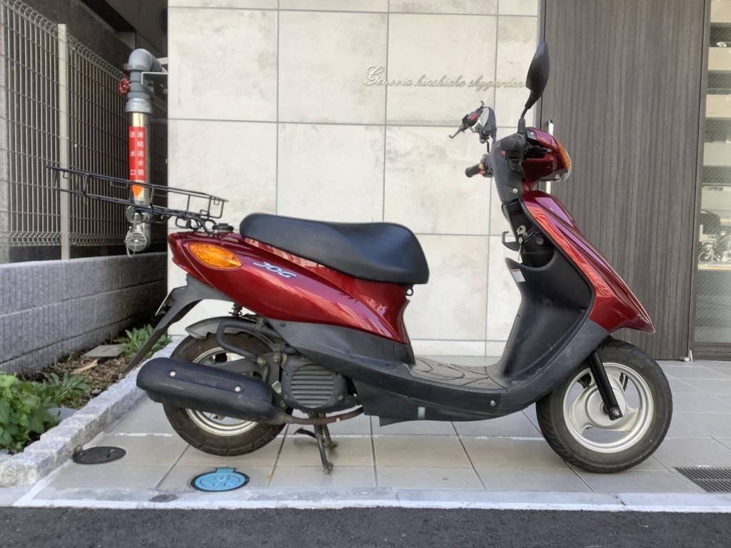 JOG 赤(HN-00) - 【公式】レンタルバイクのベストBike® 赤レンガ倉庫