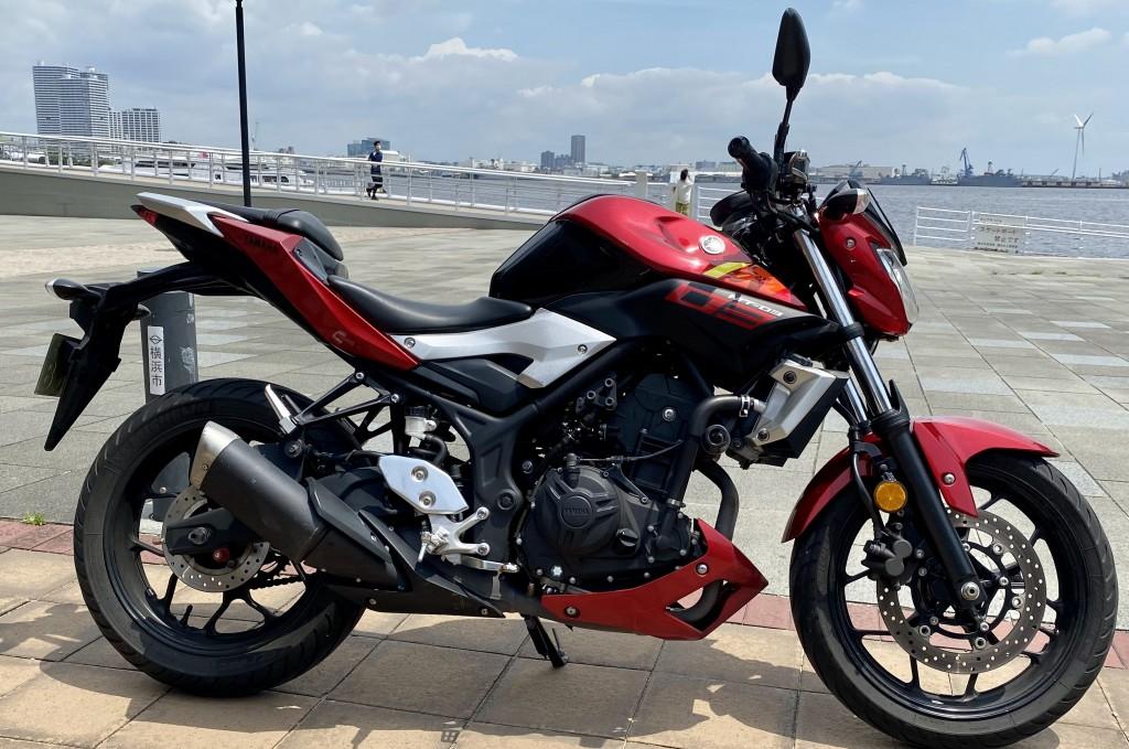 MT-03(SH-107) - 【公式】レンタルバイクのベストBike® 赤レンガ倉庫