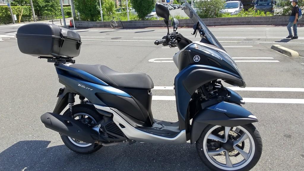 トリシティ125(SH-261) - 【公式】レンタルバイクのベストBike® 新大阪駅前