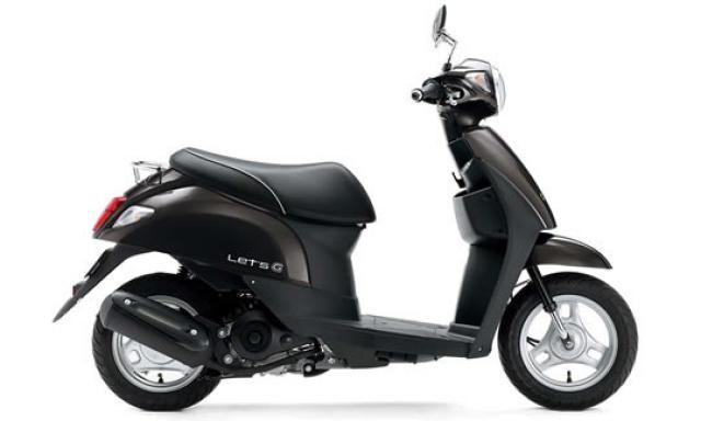 New  レッツ(FC-000) BLK - 【公式】レンタルバイクのベストBike® 伯耆 大山