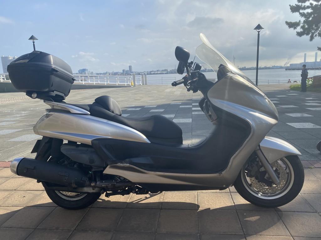 グランドマジェスティ400(SH-107) - 【公式】レンタルバイクのベストBike® 赤レンガ倉庫