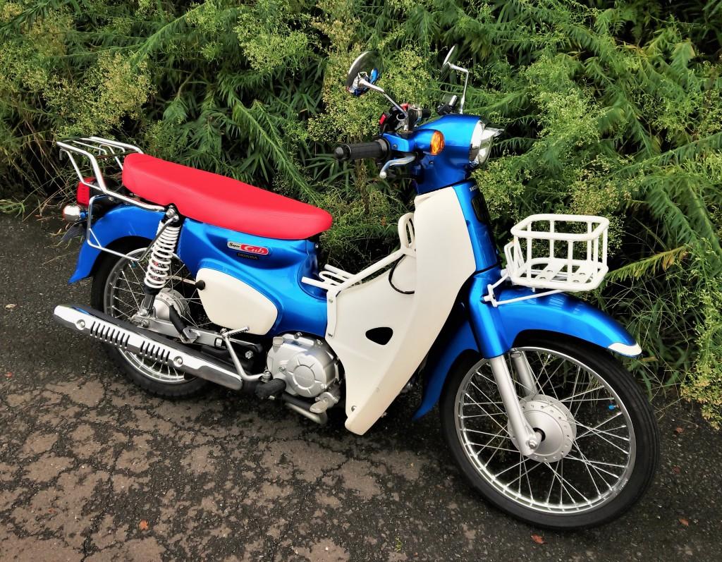 スーパーカブ110(SH-207) - 【公式】レンタルバイクのベストBike® 新宿駅東南口